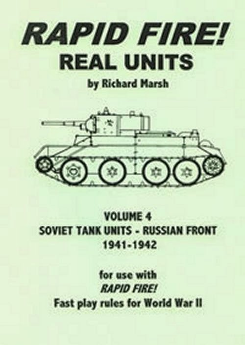 Rapid Fire Soviet Tank Units - Russian Front 1941 - 1942