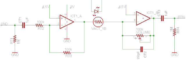 tremolo analog part schematic