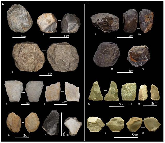 Oldowan tools Ain Boucherit Algeria Mohamed Sahnouni