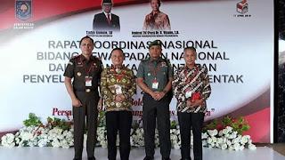 Wabup Hasnurin Hadiri Rakornas Pemantapan Pemilu 2019