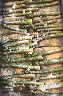 Garlic Parmesan Asparagus: Savory Sweet and Satsifying