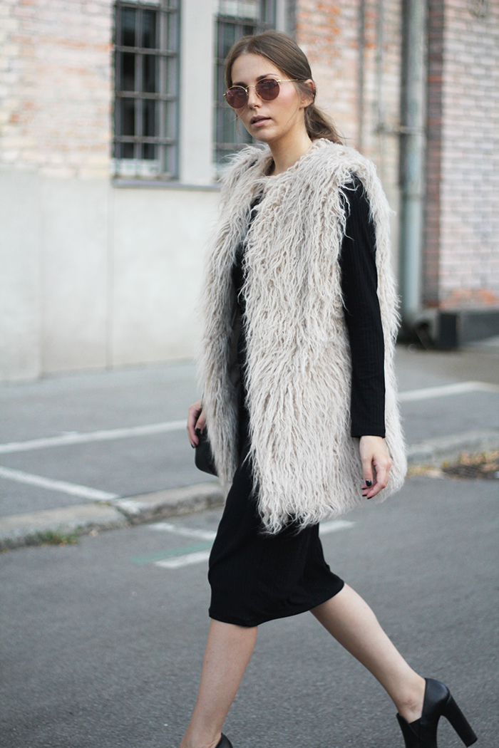 Fashion And Style Furry Vest