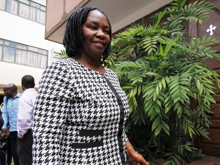 Edith Nyenze Wins Kitui West Seat With Landslide