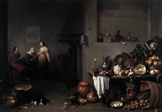 Pieter de Bloot, Christ in the House of Mary and Martha (1637)