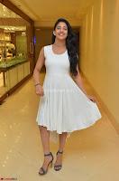 Daksha Nagarkar Cute Beauty in Sleeveless White Dress at Khwaaish Exhibition Launch 2017 ~  Exclusive 073.JPG