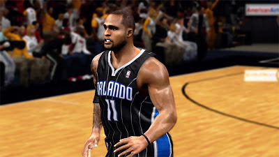 NBA 2K13 Glen Davis Cyberface 2K Patch