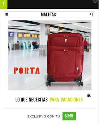 catalogo de maletas de saga Falabella 2018 mayo