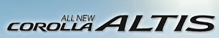 Info Terbaru Toyota Corolla Altis
