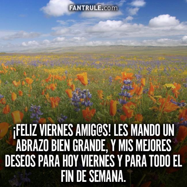 Buenos Días Viernes Bendecido y Feliz Imágenes con Flores