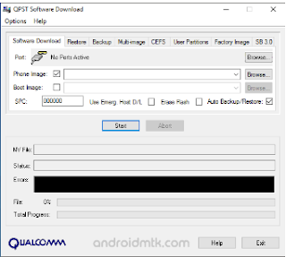 Download Qualcomm QPST-QFILL Tool All Versions