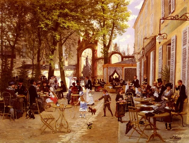 Restaurant Terrasse Nancy Cafe Paintings (19th And 20th Centuries) ~ Blog Of An Art