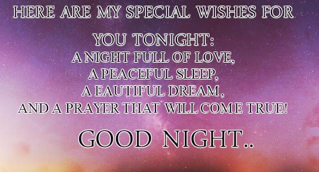 150+ Sweet Good Night Messages - Good Night