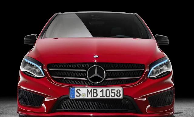 Review Mercedes B Class Exterior