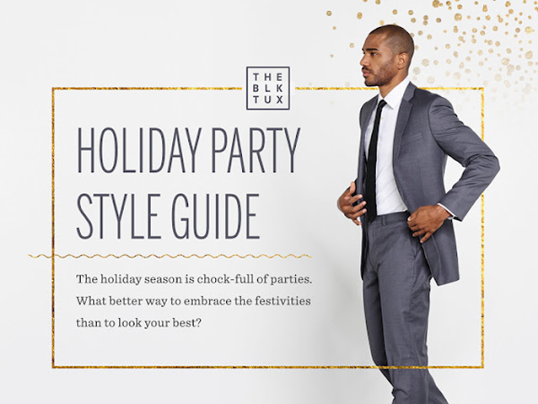 Men & Women's Holiday Party Style Guide