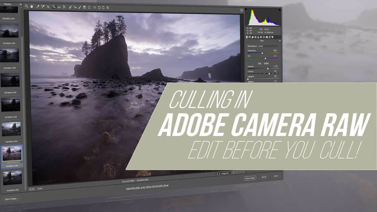 How to Use Adobe Camera Raw to Cull Your Photos