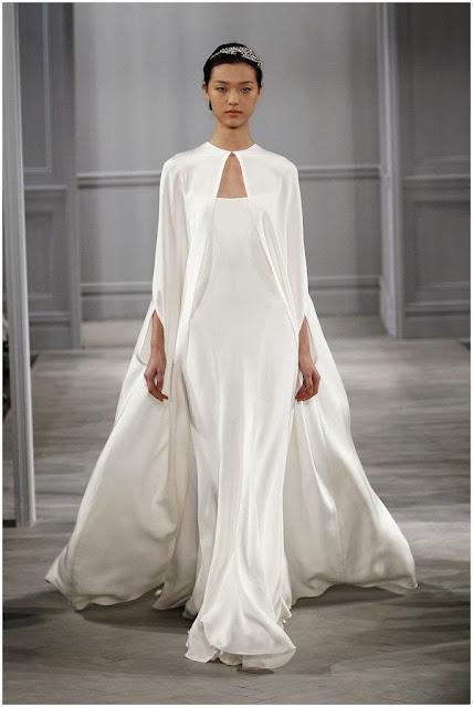 Vestidos de novia en terciopelo