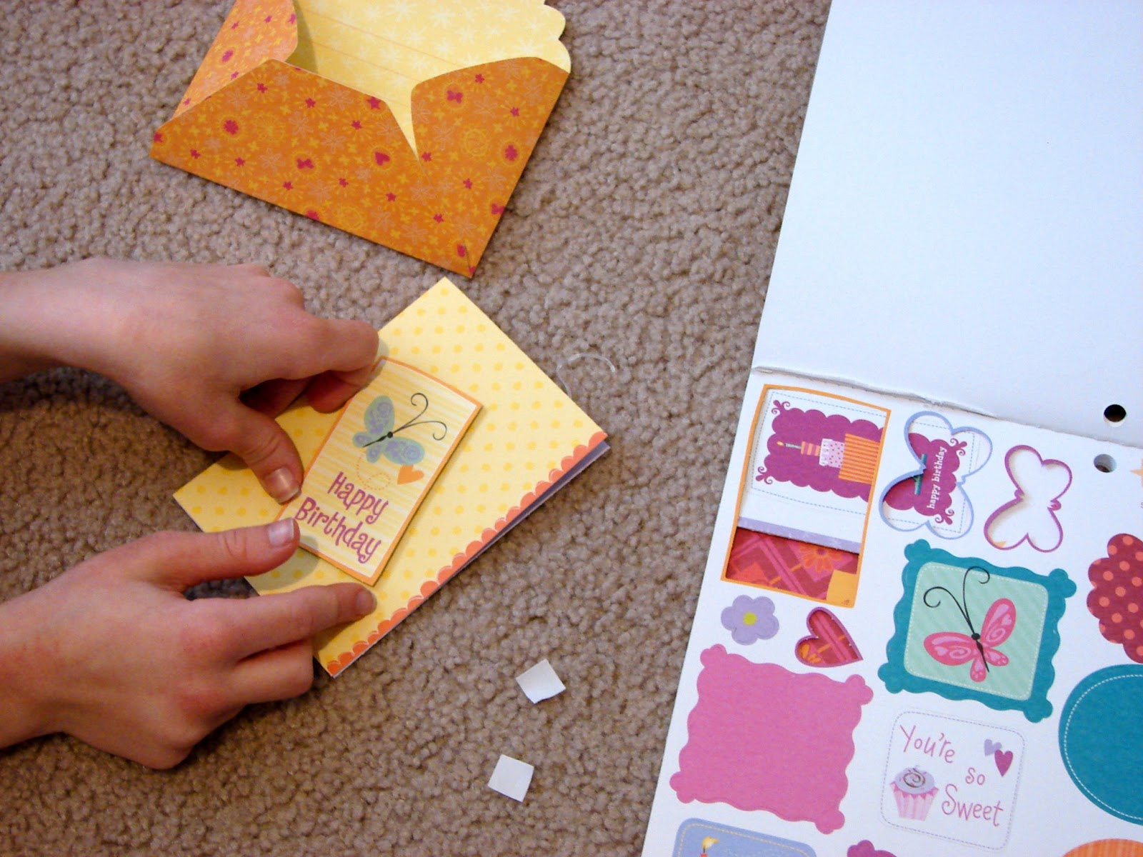 100 Images of American Girl Crafts Creative Card Making Pad