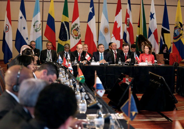 Grupo de Lima insta a Maduro a cesar la usurpación en Miraflores (Comunicado)