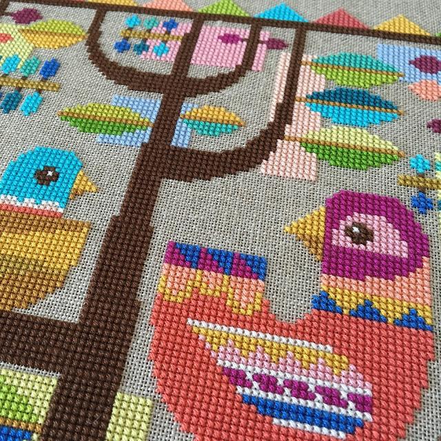satsuma_street_cross_stitch_modern_bird_happinest