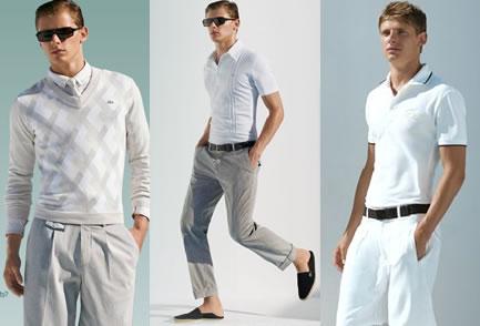 A Lacoste que foi a marca criadora das camisas pólos foi uma das primeiras  a apostar no estilo 674bf49bf8569