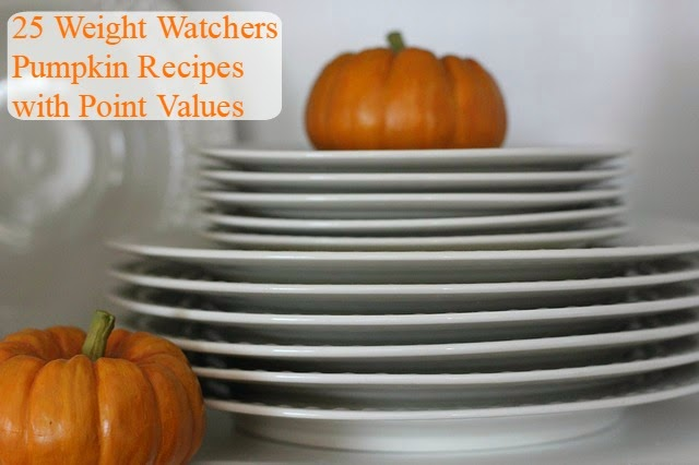25 Weight Watchers Pumpkin Recipes | Becky Cooks Lightly #pumpkin