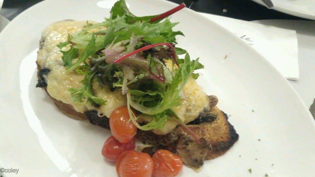 Mushroom Croque-Monsieur Recipe — Dishmaps