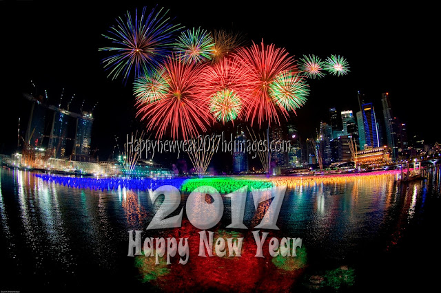 New Year 2017 Fireworks HD Images Download Free For Desktop
