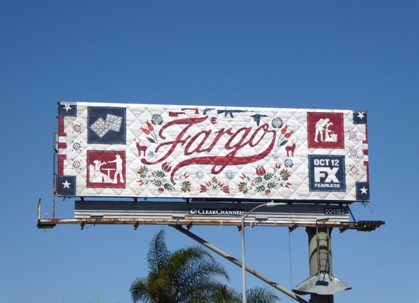 Quilted Fargo season 2 billboard
