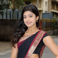 Pranitha sexy in black saree