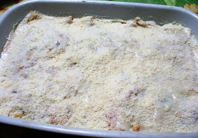 Crespelle con fagiolini, patate e stracchino