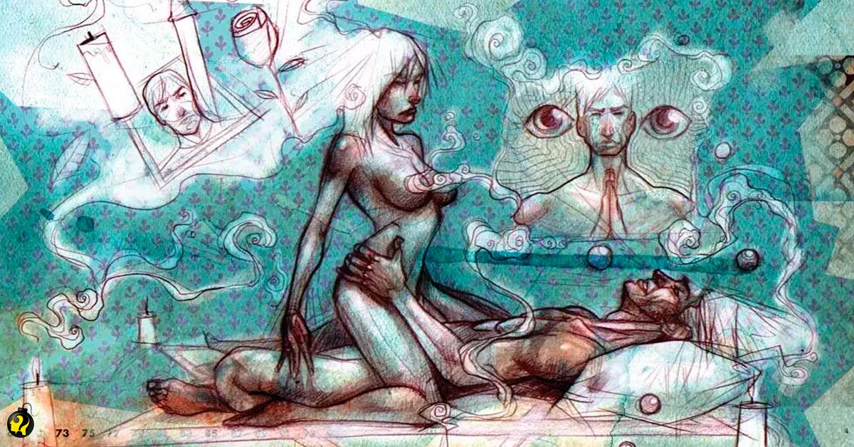 Como é um ritual de magia sexual?