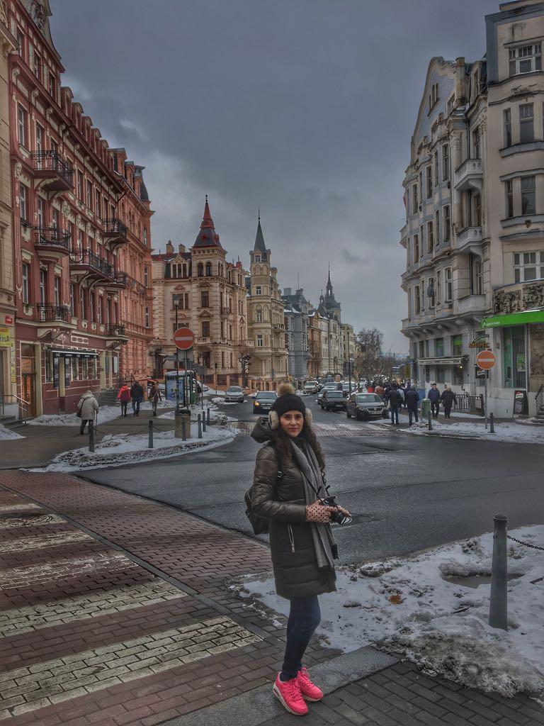 Karlovy Vary Sokakları