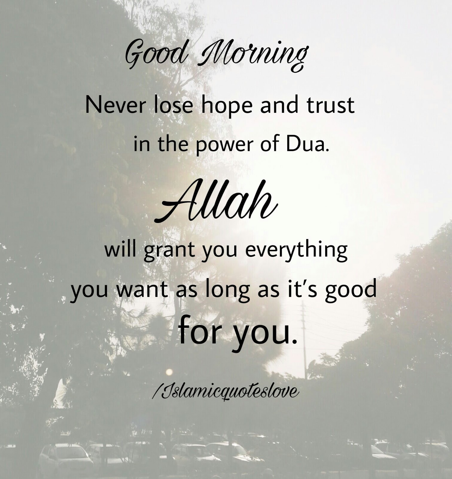 Sabr Quotes Wallpaper Islamic Quote Good Morning Never Lose Hope And Trust In