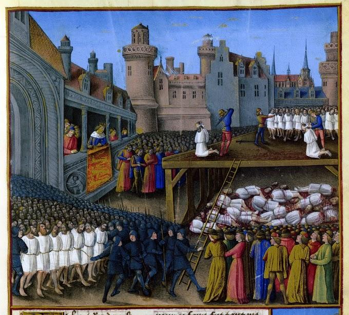 Έτος 1182 :  Η σφαγή των Λατίνων της Κωνσταντινουπόλεως