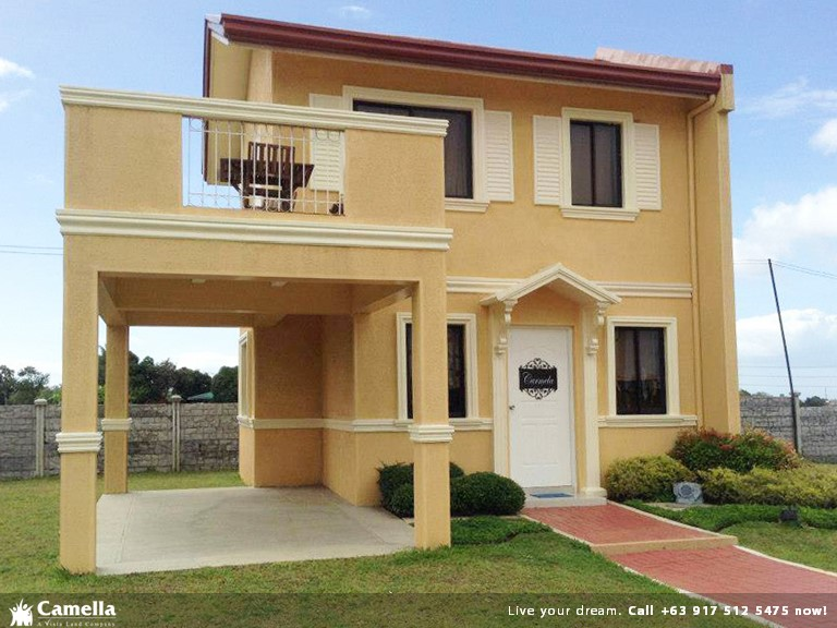 Carmela - Camella Carson| Camella Affordable House for Sale in Daang Hari Bacoor Cavite