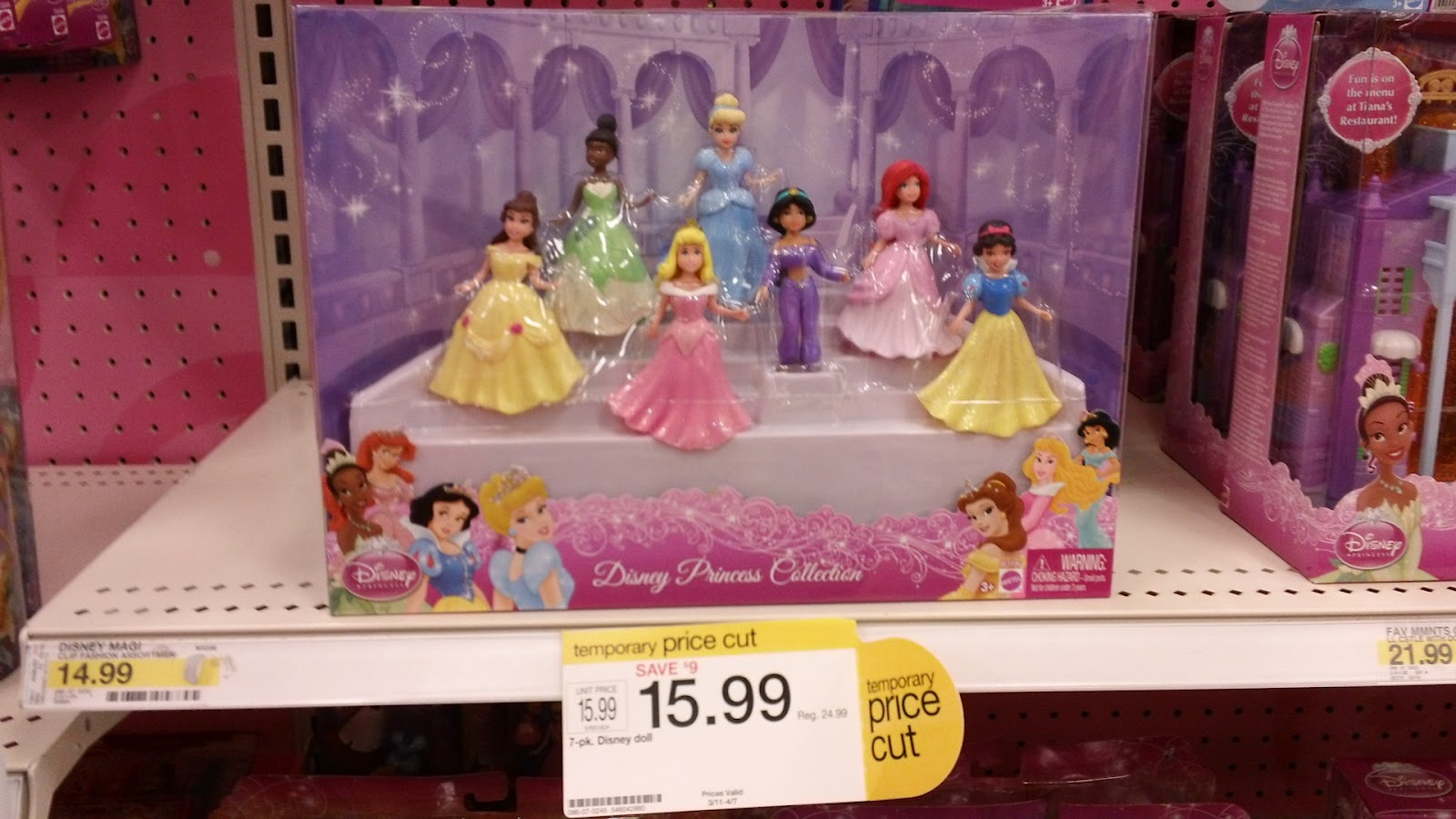 cf84dc8751e Extreme Couponing Mommy   7.99 Disney Princess Doll Collection 7 ...