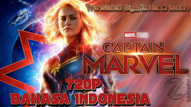 Captain Marvel 2019 720p Bahasa Indonesia