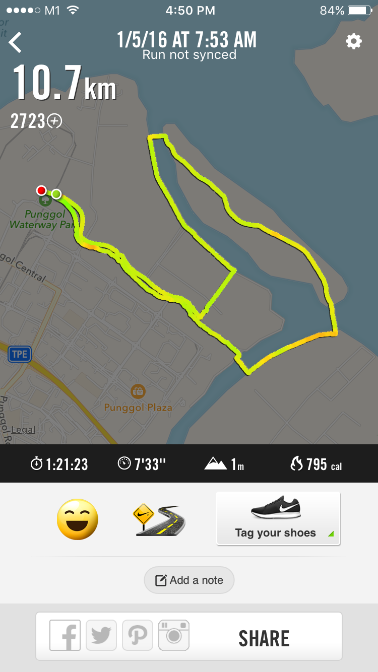 10km Running Route Of The Performance Series
