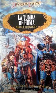 reseña de La tumba de Huma - Crónicas de la Dragonlance