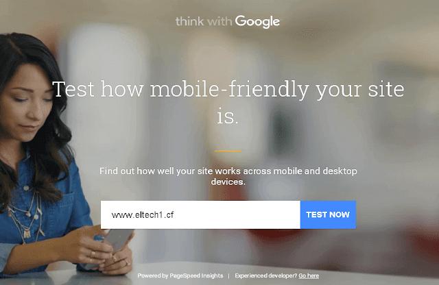 افحص سرعة موقعك و تجوابه مع الهاتف عن طريق اداة جوجل