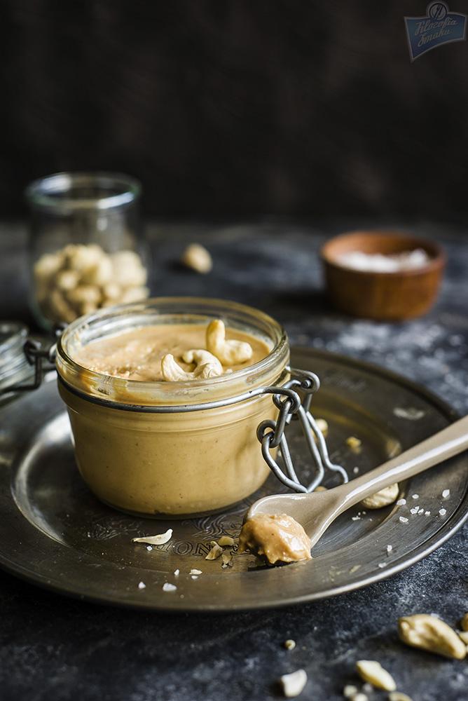 Masło z nerkowców przepis