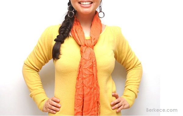 Tutorial Scarf Leher Buat Anda Makin Stylish