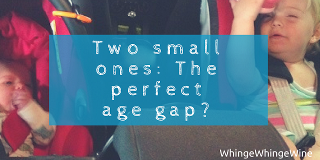 Two small ones: The perfect age gap?