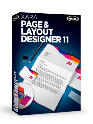 Xara Page & Layout Designer box