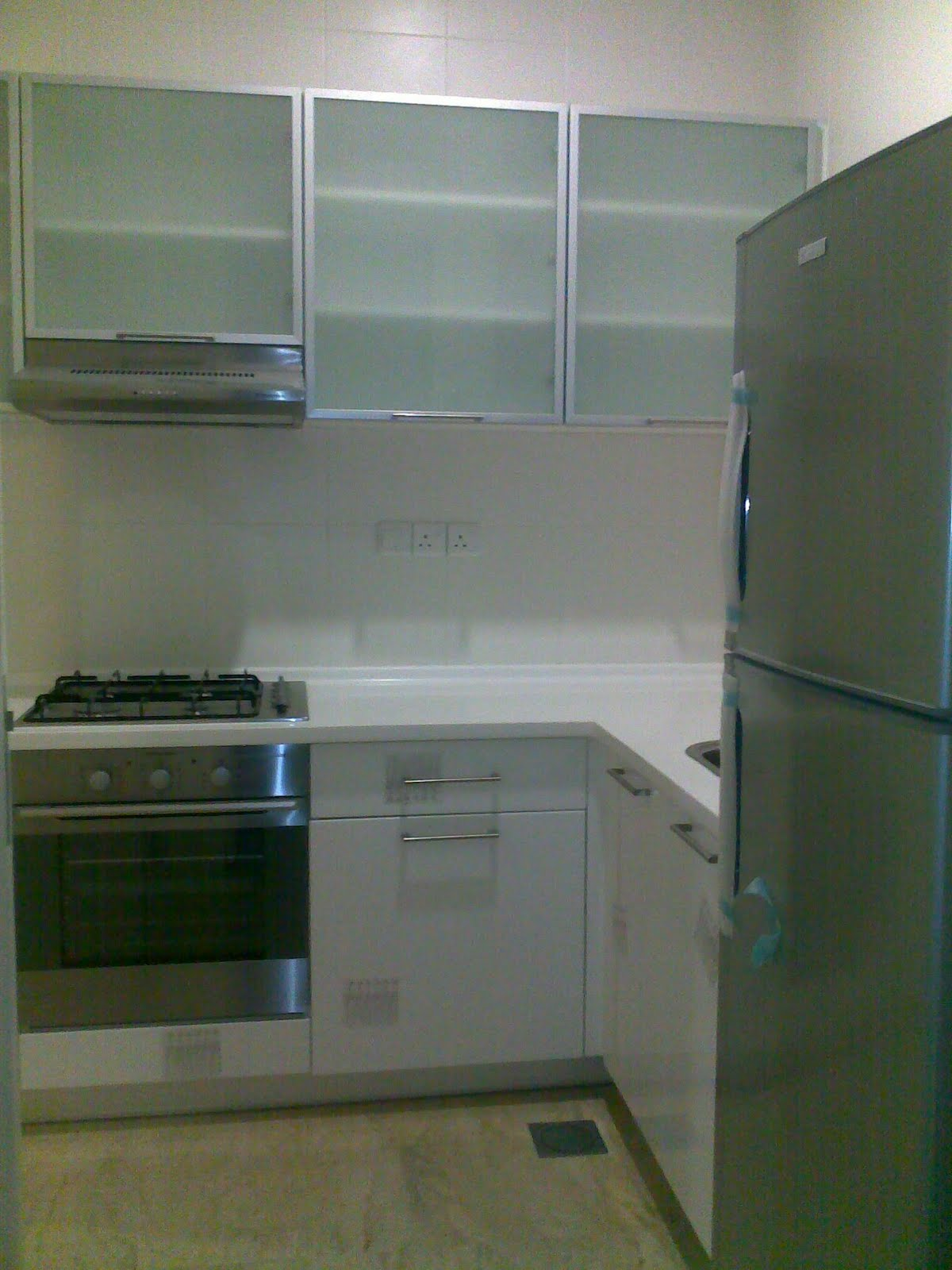 doors emptied everything out of the kitchen kitchen cabimakeover