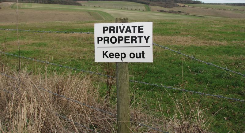 Pokemon go Private Property Keep Out
