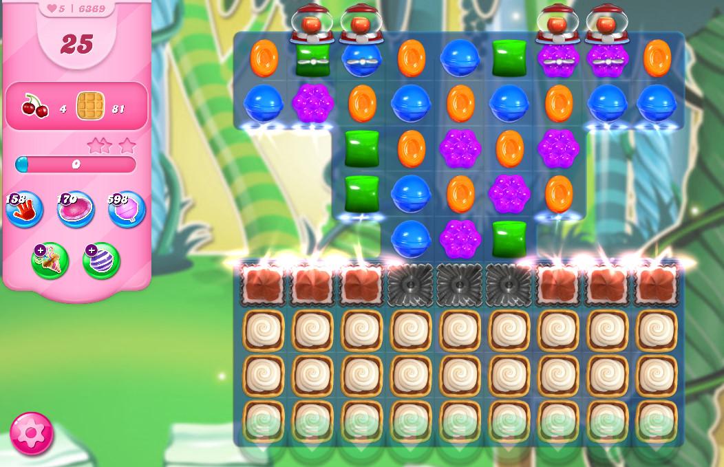 Candy Crush Saga level 6369
