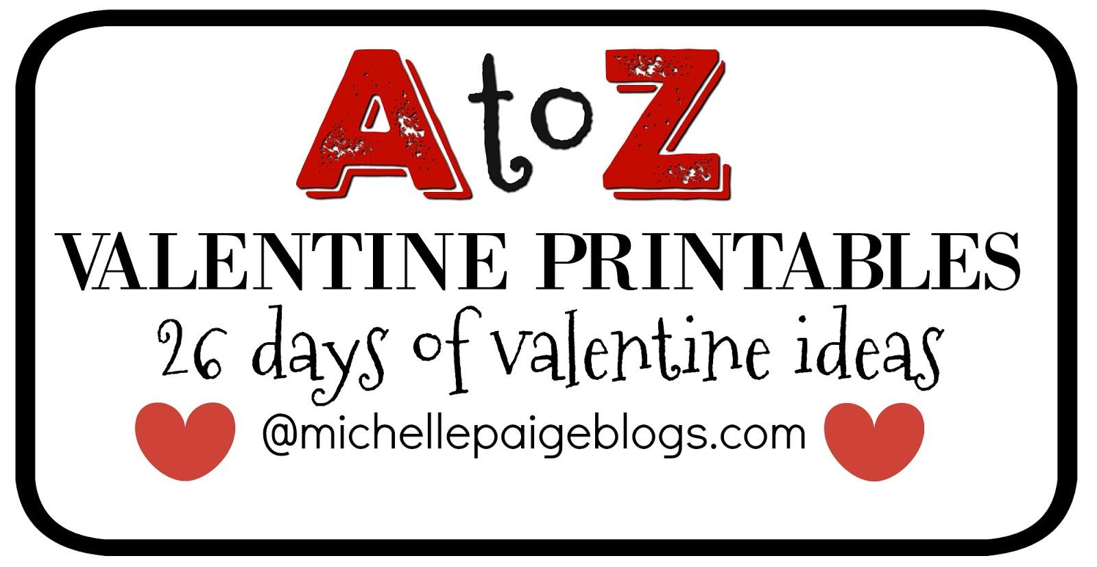 Michelle Paige Blogs Boy Valentines Printable Cheesy Valentines