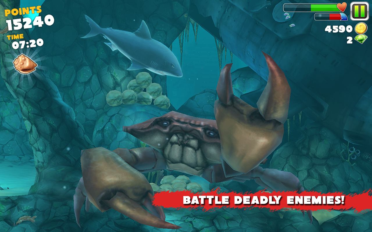 Hungry Shark Evolution v2.7.2 MOD Apk+Data   game and software