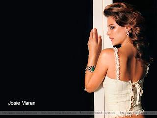 josie maran, model, actress, half naked, bareback, josie maran exclusive photograph